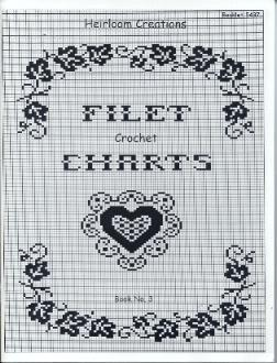 Alphabet Charts - Crochet -- All About Crocheting -- Free Patterns